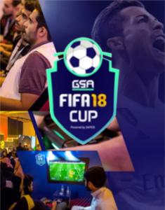 GSA FIFA 18 Cup logo