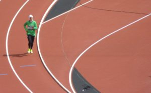 First Saudi women running in Olympics