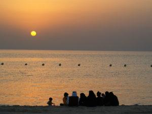 Half Moon Beach in Saudi Arabia