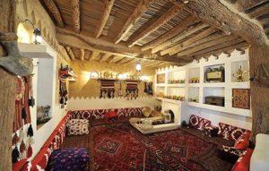 Najd Village seating area