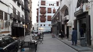 Old buildings in historic Jeddah