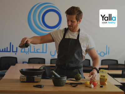 Benefits of healthy eating with Yalla Cook Healthy