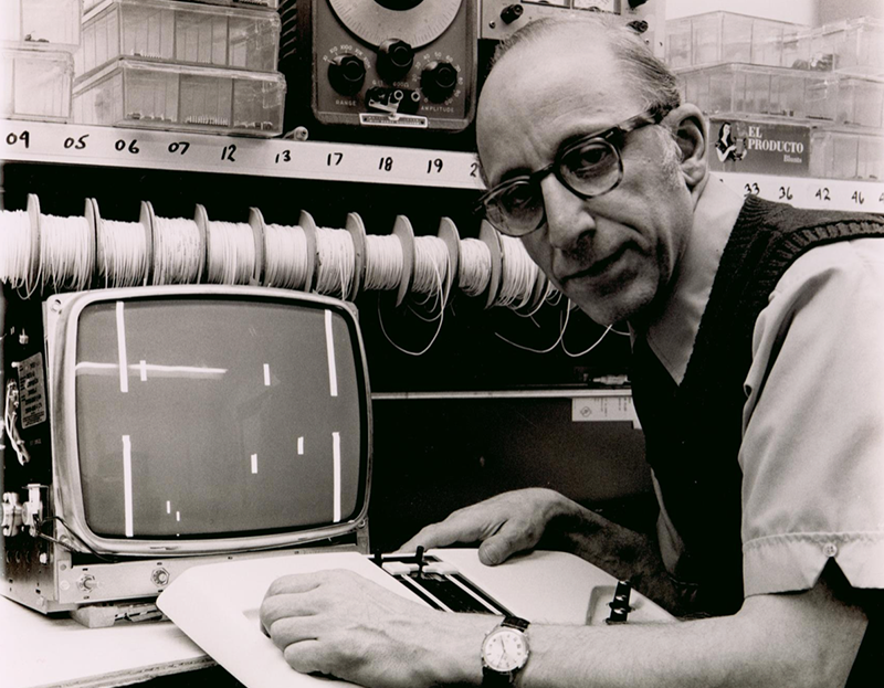 Without Ralph Baer, we wouldn't know Video Games